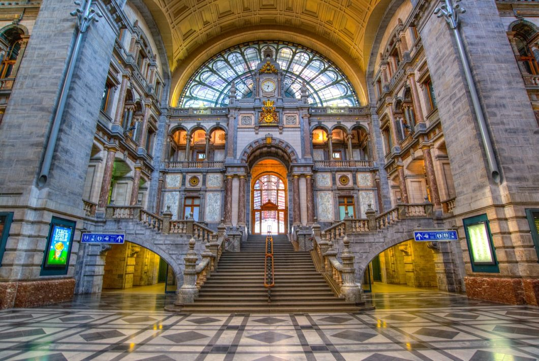 Antwerp Center Station Hall