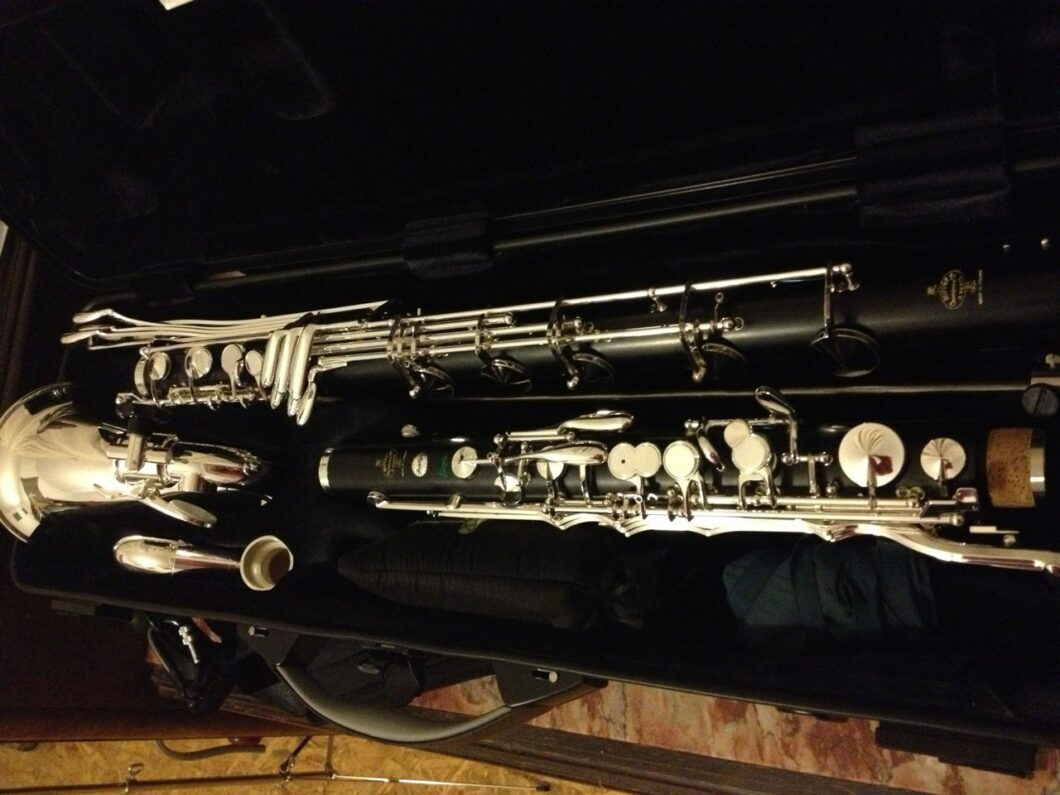 Long pipe of Bus clarinet
